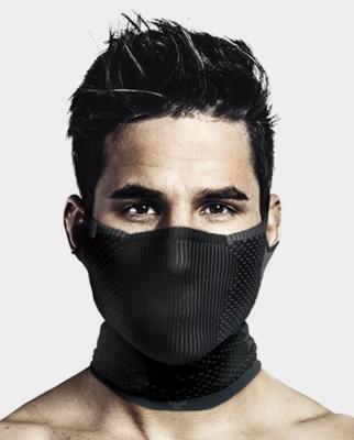 Masca pentru sportivi Naroo F5 cu filtrare particule Negru/Gri