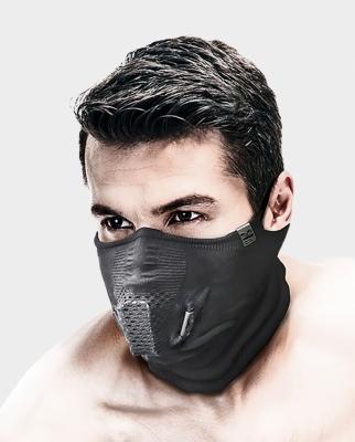 Masca pentru sportivi Naroo Mask T.BONE5+ Negru