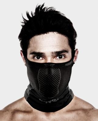 Masca pentru sportivi Naroo Mask X5 Negru/Rosu