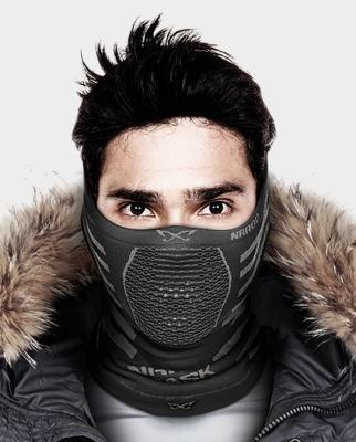 Masca pentru sportivi Naroo Mask X9 Alb/Gri