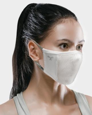 Masca pentru sportivi Naroo N0U S-M Alb