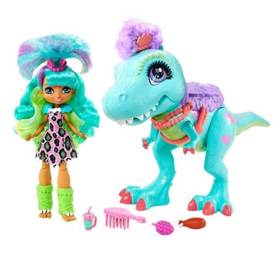 Mattel Cave Club Rockelle and Tyrasaurus