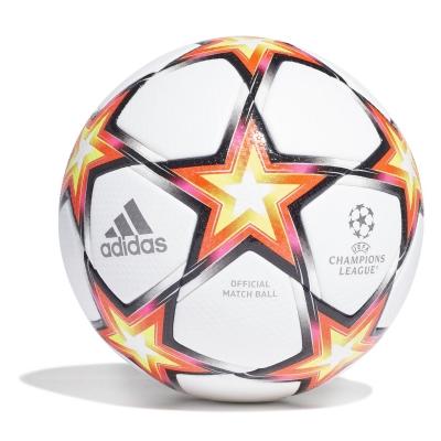 Minge de Fotbal adidas UEFA Champions League Pro Pyrostorm alb rosu galben