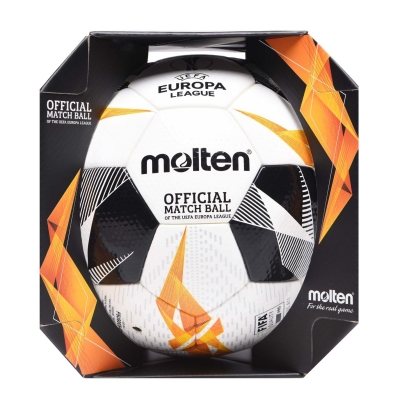 Minge de Fotbal Molten Europa League Official alb