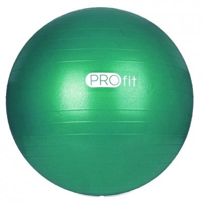 Minge fitness PROFIT 55 Cm verde cu pompa DK 2102