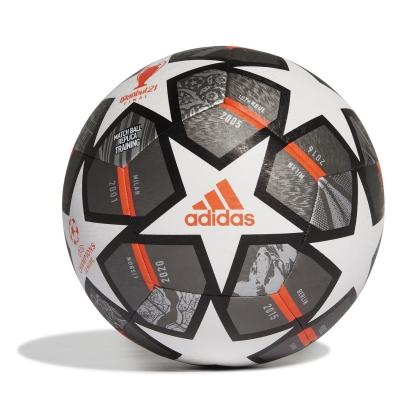 Minge fotbal adidas Champions League Top antrenament alb argintiu