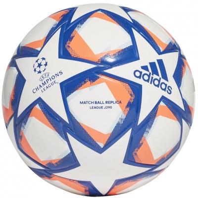 Minge fotbal Adidas Finale 20 League J290 alb-albastru FS0267