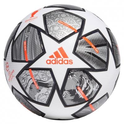 Minge fotbal Adidas Finale 21 20th Anniversary UCL Pro alb-silver-portocaliu-negru GK3477