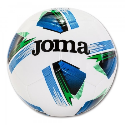 Minge fotbal Joma Challenge alb-albastru marimea 5 roial