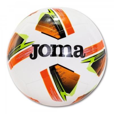 Minge fotbal Joma Challenge alb-portocaliu Size 4