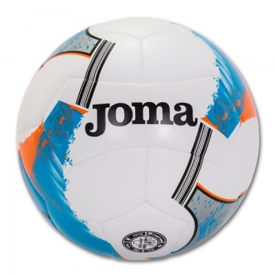 Minge fotbal Joma Uranus Hybrid alb-albastru marimea 5 roial