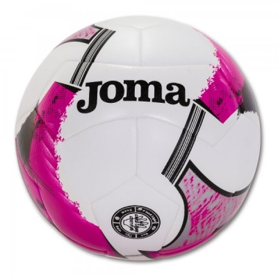 Minge fotbal Joma Uranus Hybrid alb-roz Size 4