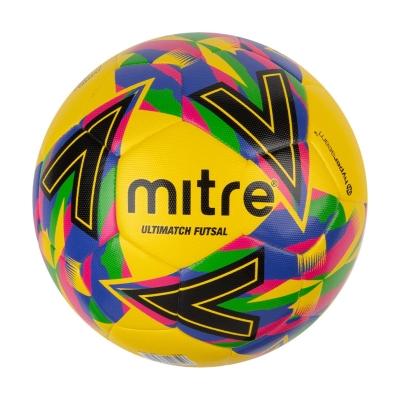Minge fotbal Mitre Futsal galben albastru