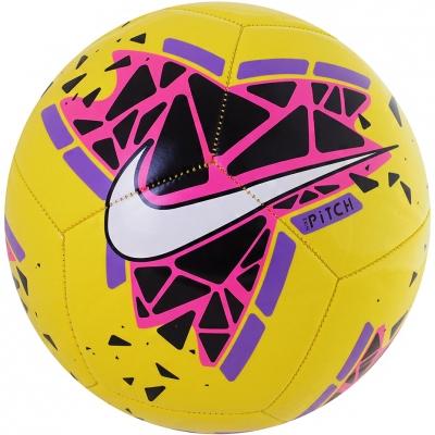 Minge fotbal Nike Pitch galben-roz-mov SC3807 710