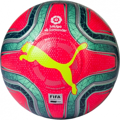 Minge fotbal Puma LaLiga FIFA Quality Pro rosu-verde 083396 02