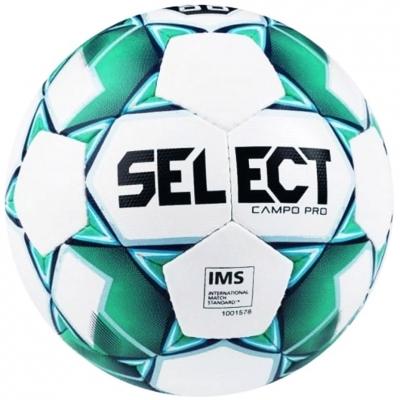 Minge fotbal Select Campo Pro 5 alb-verde