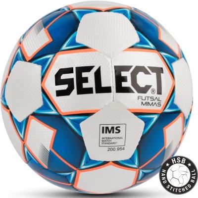 Minge fotbal Select Futsal Mimas IMS 2018 alb-albastru hall 13826