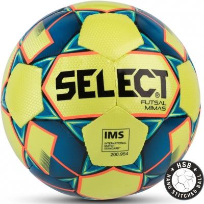 Minge fotbal Select Futsal Mimas IMS 2018 Hall galben-albastru 14159