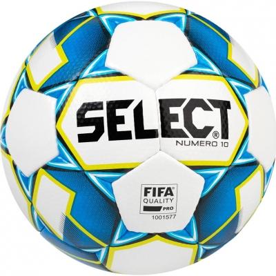 Minge fotbal Select Numero 10 FIFA 5 2019 alb albastru galben 15007