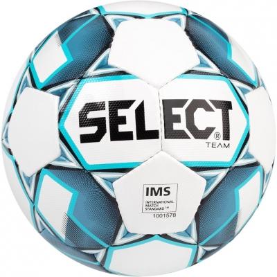 Minge fotbal Select Team 5 IMS 2019 alb albastru 14924