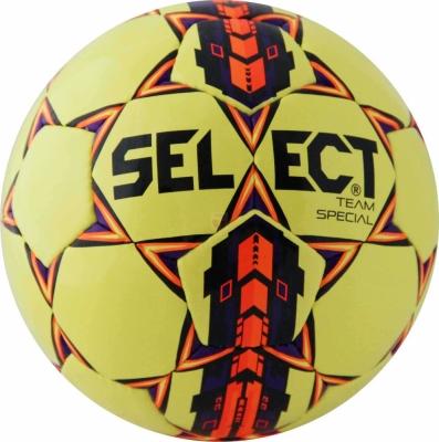 Minge fotbal Select Team Special 5 galben portocaliu mov 13939 copii