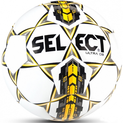 Minge fotbal Select Ultra DB 4 alb And galben 2017 12356