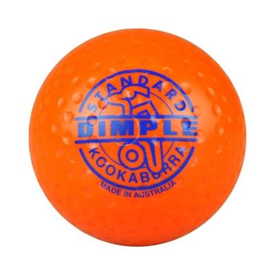 Minge Kookaburra Dimple Standard Hockey pentru adulti portocaliu