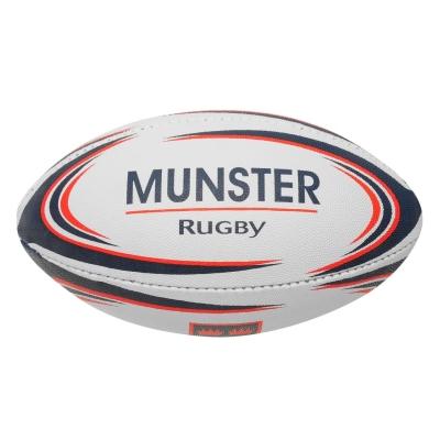 Minge rugby Official Midi alb rosu