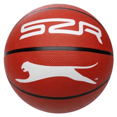 Mingi cauciuc Slazenger basketball inchis bej