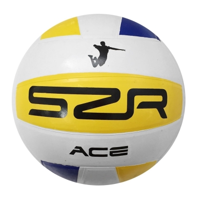 Mingi cauciuc Slazenger volley bleumarin galben