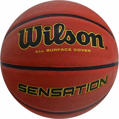 Mingi de Baschet ball Wilson Sensation 7 maro WTB9118XB0701 barbati