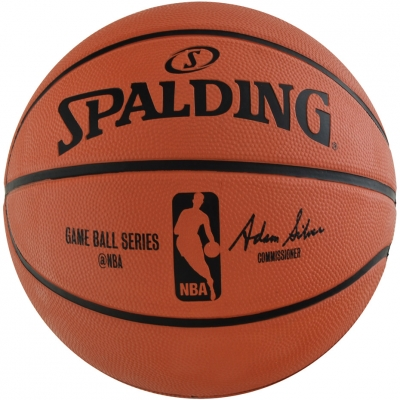 Mingi de Baschet SPALDING NBA GAMEBALL REPLICA OUTDOOR 2017 83385Z