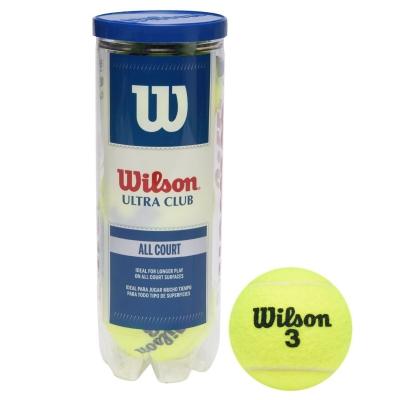 Mingi de tenis Wilson Ultra Club toate suprafetele galben