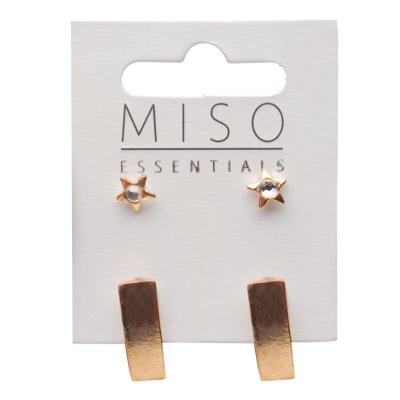Miso Earring Studs pentru Femei