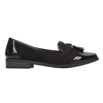 Pantofi mocasini Miso Tasha pentru Femei negru patent
