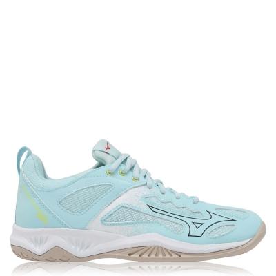 Adidasi sport Mizuno Ghost Shadow Netball pentru femei albastru