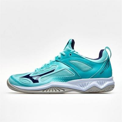 Mizuno Ghost Shadow Netball Shoes pentru Femei albastru deschis