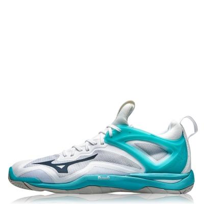 Mizuno Wave Mirage 3 Netball Shoes pentru Femei alb