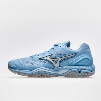 Adidasi sport Mizuno Wave Stealth V Netball pentru Femei cool albastru