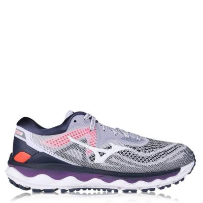 Adidasi alergare Mizuno Wave Sky 4 pentru Femei lila hint