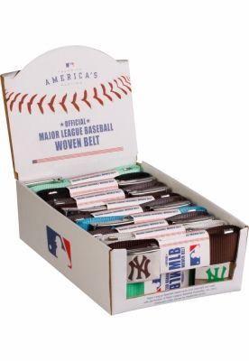 MLB Wovenbelt Display negru MasterDis
