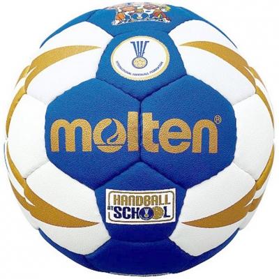 Molten H0X1300-BW Handbal Soft 47 Cm Long albastru-alb