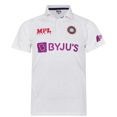 MPL Sports India Test Shirt 2021 pentru Barbati alb