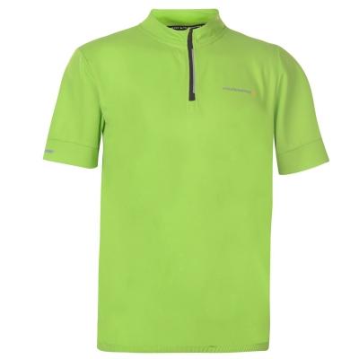 Muddyfox ciclism cu Maneca Scurta Jersey pentru Barbati verde negru