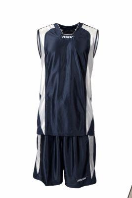 Set baschet Nairobi Blu Bianco Max Sport pentru baschet