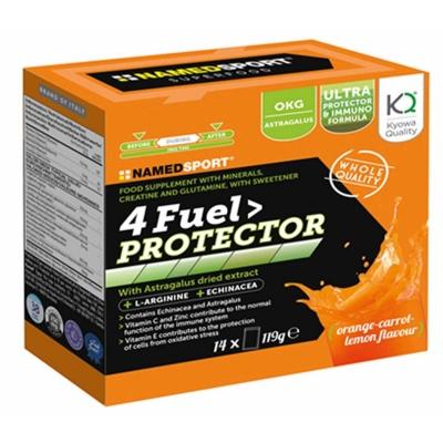 NAMEDSport 4 Fuel Protector Drink - 14x119g portocaliu carrot and galben