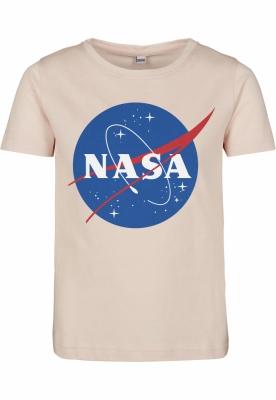 NASA Insignia cu Maneca Scurta Tee pentru Copii roz Mister Tee