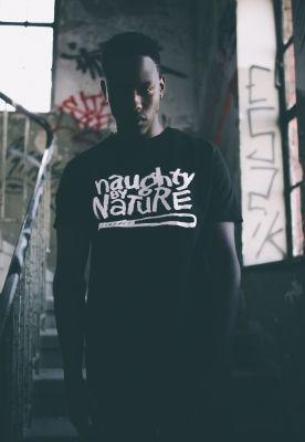 Tricou rap Naughtz by nature negru Mister Tee