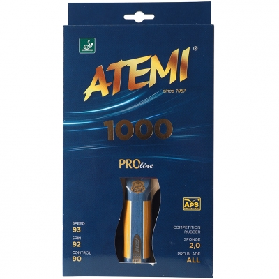 New Atemi 1000 Pro Concave Ping Pong Bats