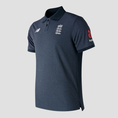 Tricouri Polo New Balance Anglia Cricket pentru Barbati deschis galaxy
